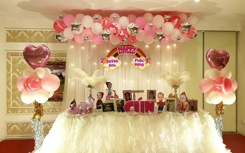 Tổ chức sinh nhật cho bé tại Thanh hóa